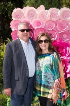 HILLSBOROUGH, CA - August 28 - Jim Hartnett and Rosanne Faust attend Auxiliary of Court Appointed Special Advocates (CASA) of San Mateo County Annual Garden Party on August 28th 2016 at Private Garden in Hillsborough in Hillsborough, CA (Photo - Susana Bates for Drew Altizer Photography)
